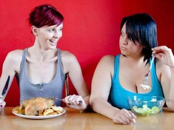 节食把自己饿瘦了?你跟真正的瘦子还差得远呢!