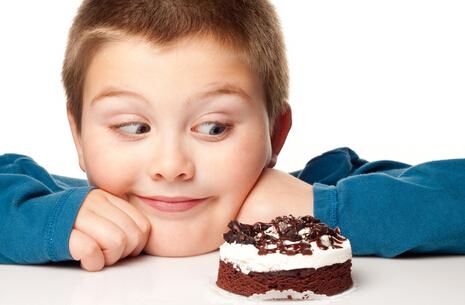 不当的习惯导致儿童肥胖!
